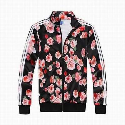 Un rétro pour le veste adidas en ligne Rose